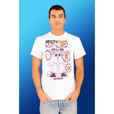 Goldrake - Ufo Robot Grendizer Bianca - T-shirt SMALL