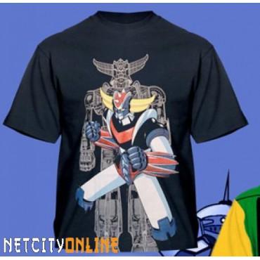 Goldrake - Ufo Robot Grendizer Black - T-shirt EXTRA LARGE