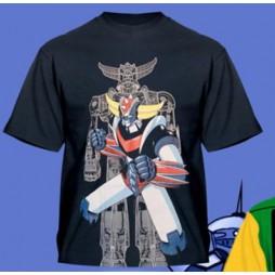 Goldrake - Ufo Robot Grendizer Black - T-shirt MEDIUM