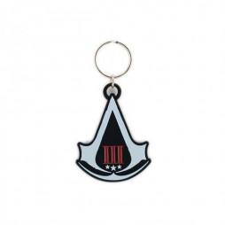 Assassin\'s Creed III - Metal Logo Keyring