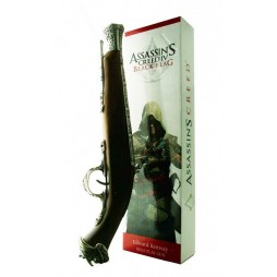 Assassin\'s Creed IV - Black Flag - Edward Kenway Pistola Canna Trombone Decorato (Role Play)