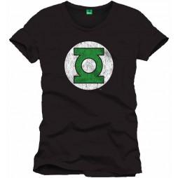 Green Lantern - Logo BLACK - T-shirt LARGE