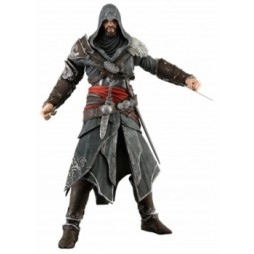 Assassin\'s creed revelations - Ezio Black Outfit Hooded Version - Action Figure - Neca