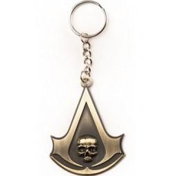 Assassins Creed IV - Black Flag - Portachiavi - Crest Logo Keyring