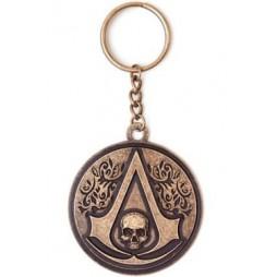 Assassins Creed IV - Black Flag - Portachiavi - Logo Tondo Keyring