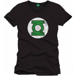 Green Lantern - Logo BLACK - T-shirt SMALL