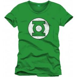 Green Lantern - Logo Green - T-shirt LARGE