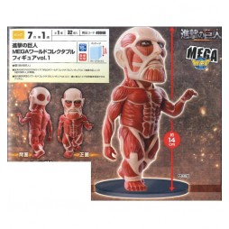 Attack on Titan - Colossal Titan Mega World Collectible