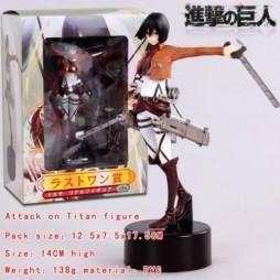 Attack on Titan - L\'Attacco dei Giganti - Mikasa Figure