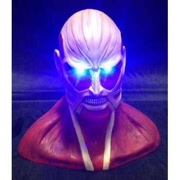 Attack on Titan - L\'Attacco dei Giganti - Busto con led luminoso del Titano Colossale
