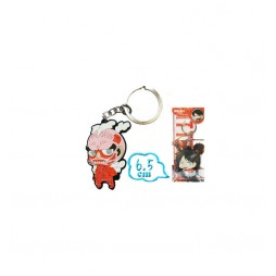 Attack on Titan - L'Attacco Dei Giganti - Keyring 2D - Rubber - Portachiavi - Deformed Keyring