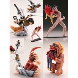Attack On Titan - L\'Attacco Dei Titani - Gashapon SET - Complete 4 Figure - SET