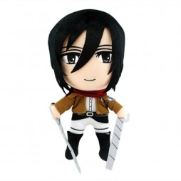 Attack on Titan Plush - L'attacco Dei Giganti - Mikasa Ackerman - Peluche 30 cm