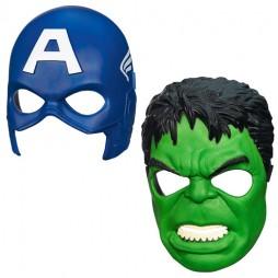 Avengers Captain America Hulk Mask SET