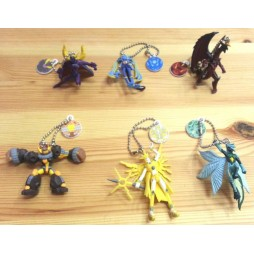 Bakugan - Keychain - Figure - Set - Complete Set Of 6
