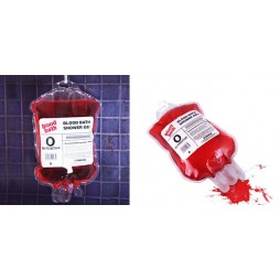 Bath Shower Gel - Spinning Hat - Sacca Sangue - Blood Bath Shower gel - Bagnoschiuma