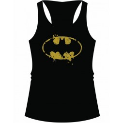 BATMAN - Classic logo - Woman - Canottierina - Taglia Medium