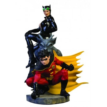 Batman Family Multi-Part Statue - Part1: Robin and Catwoman
