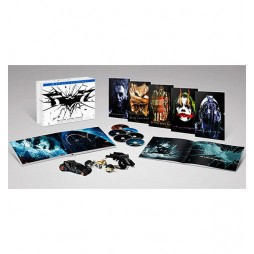 Batman The Dark Knight Trilogy Blu Ray Ultimate collector Ed.