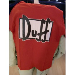 I Simpson - The Simpsons - Duff - T-shirt LARGE