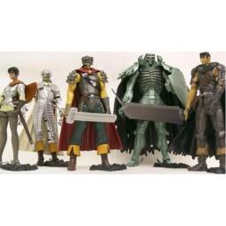 Berserk - Art of War Mini Serie Figure Set Vol.1 - Complete Figures Set of 5
