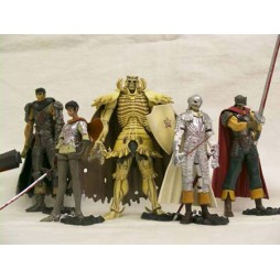Berserk - Art of War Mini Serie Figure Set Vol.1 Exclusive Ed.- Complete Figures Set of 5