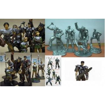 Berserk Art of War Mini Serie Figure Set Vol.5 - Complete Boxed Set of 12