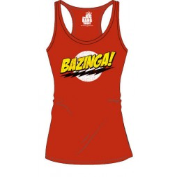 Big Bang Theory - Bazinga! - Woman - Canottierina - Taglia Large
