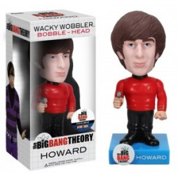 Big Bang Theory - HOWARD Star Trek Outfit Exclusive - 6-inch Bobble Head