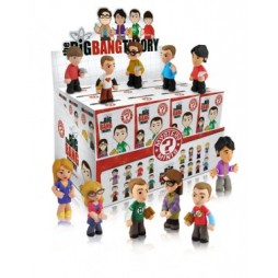 Big Bang Theory - Mystery Minis - 24 Mini-Vinyl Figures - Display