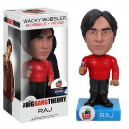 Big Bang Theory - RAJ Star Trek Outfit Exclusive - 6-inch Bobble Head