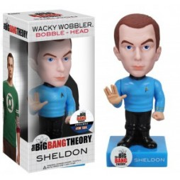 Big Bang Theory - SHELDON Star Trek Outfit - 6-inch Bobble Head