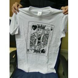 King Of Hearts - Re Di Cuori - T-shirt SMALL