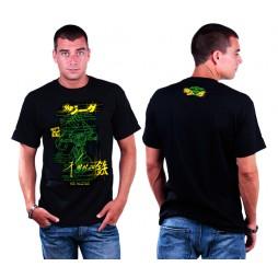 Kotetsu Jeeg - Jeeg Vitruviano Black - T-shirt EXTRA LARGE