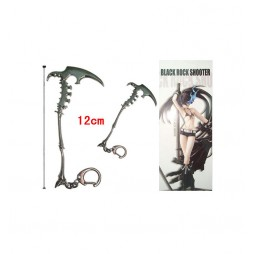 Black Rock Shooter - Keyring 2D - Metal - Portachiavi - Piccone