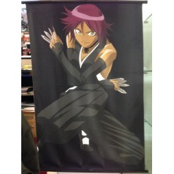 Bleach - Poster - Wall Scroll in Stoffa - Yoruichi Shihoin