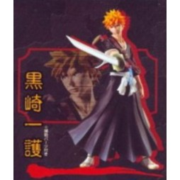 Bleach - Styling Characters Part 1 - Set of 4 Figure Bandai - Ichigo Kurosaki - Loose