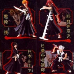 Bleach - Styling Characters Part 1 - Set of 4 Figure Bandai - Set Completo