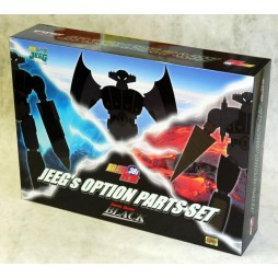 Brave Gohkin 38 - Kotetsu Jeeg - Jeeg\'s option parts set - BLACK VERSION