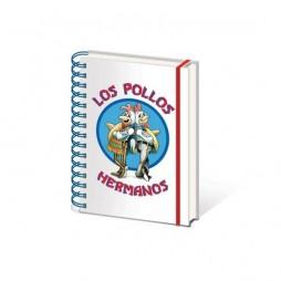 Breaking Bad - A5 Notebook - LOS POLLOS HERMANOS