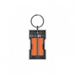 Call Of Duty - Black Ops II - Keyring 2d - Metal - Orange Logo Portachiavi