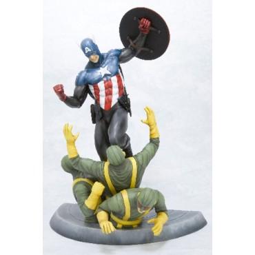 Capitan America - Kotobukiya Fine Arts Statue - Captain america Chased