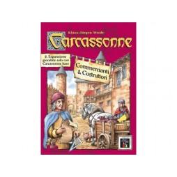 Carcassonne 2a espansione Commercianti e Costruttori