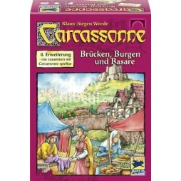 Carcassonne 8a espansione Bazar, Ponti e Castelli