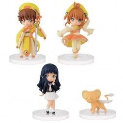 Card Captor Sakura - Girls Memory Chibi For Girls Atsumete 2 - 2 SET