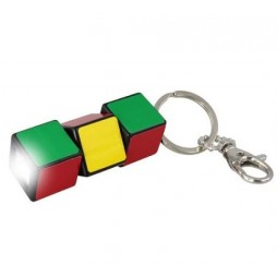 Cubo di Rubik - Keychain - 3 Cubes Light Torch