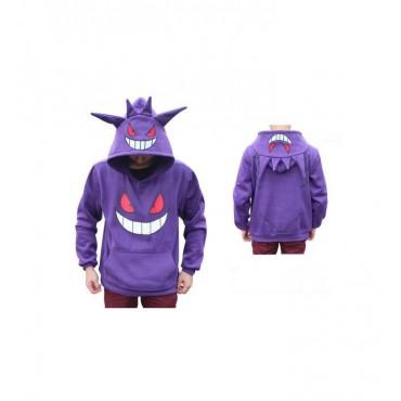 nuovi stili 783e0 562e0 Pokemon - Gengar - Felpa Hoodie MEDIUM