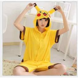 Pokemon Pikachu - Pigiama Intero LARGE