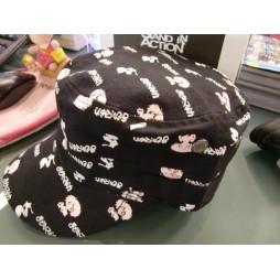Puella Magi Madoka Magica - Madoka e Kyubey Famiglio pattern on black - Cappellino Baseball Cap