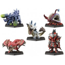Monster Hunter 3 - Tri G Collection Figure 3 - Trading Figure Set - Complete Figure Set